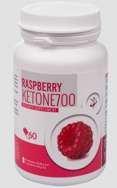 Raspberry keratone 700 capsule