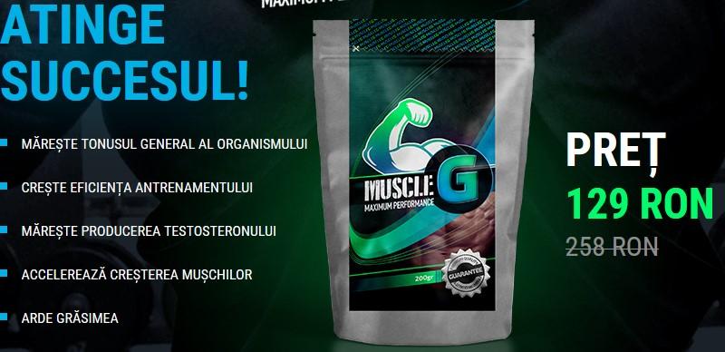 muscle g pret oferta