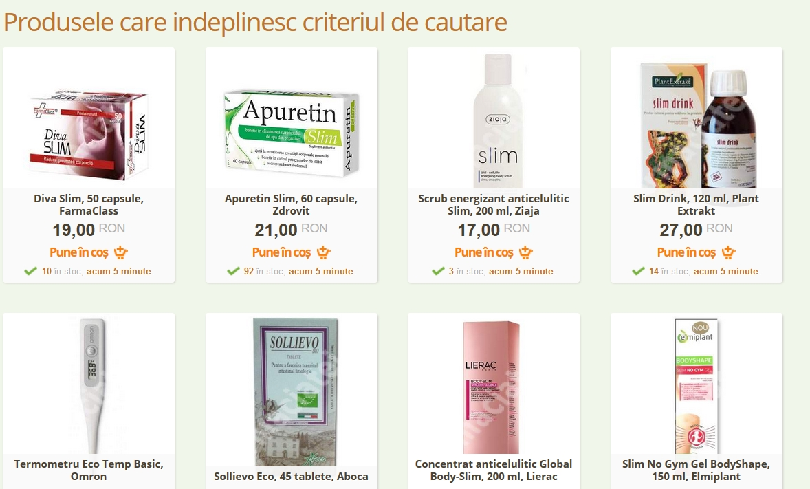 eco slim farmacia tei