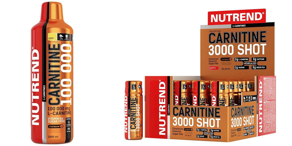 carnitina nutrend supliment
